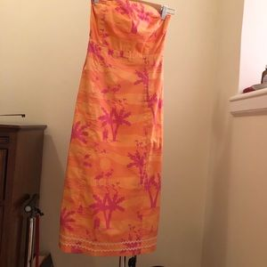 Lilly Pulitzer, Size 2, resort season sunset print